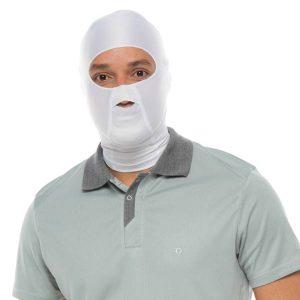 Máscara Con Protección Upf 50 +